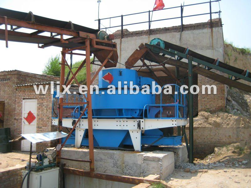The end of world High quality Road sand making machine&sand maker