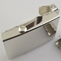 High-end crazy selling mini size rectangle belt buckle