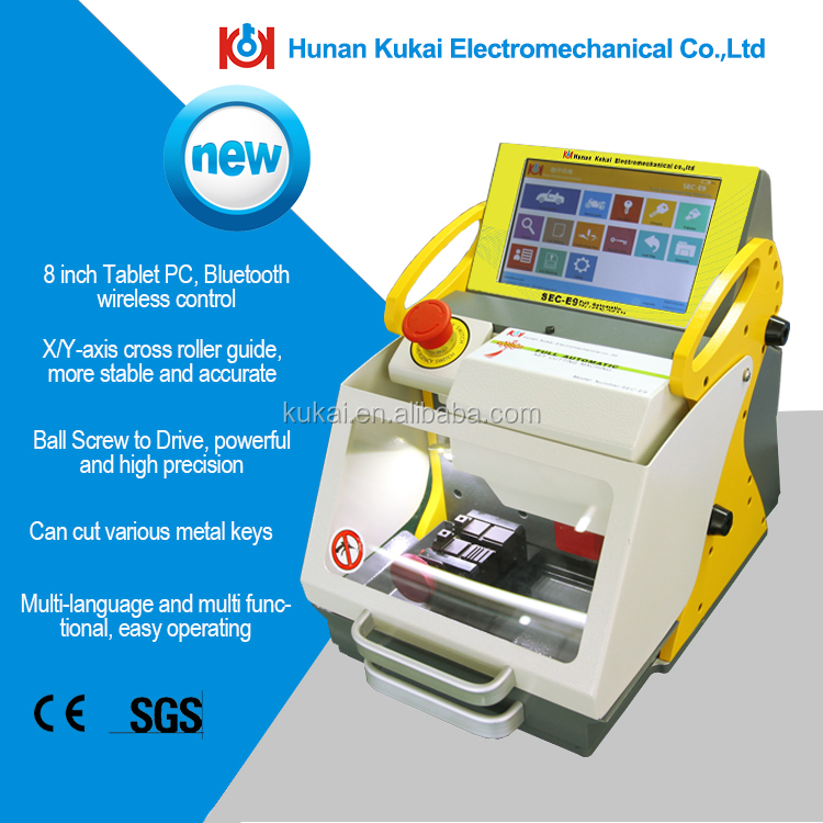 Tubular Keys Cutting Machine For Sales High-Precision Fully Automatic Duplicate SEC-E9 Key Cutting