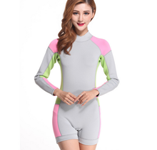 Womens plus size wetsuits diving suit neoprene fabric uk