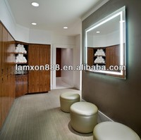 Wholesale luxury design LED bathroom wall lighted mirrors with waterproof design