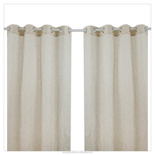 Modern eyelet stripe yarn dyed latest curtain designs