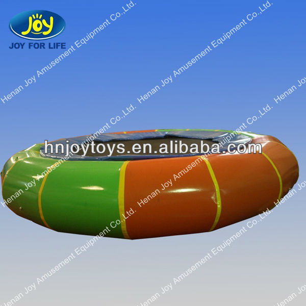 HOT sale durable inflatable water trampoline/water sports games