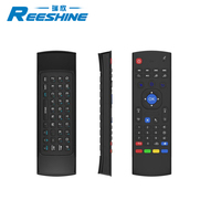 Reeshine Smart Remote mx3 Air Mouse 2.4G russian wireless keyboard for android tv box