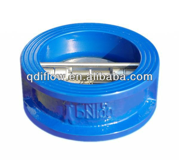 Check valve wafer type dual plates/swing type available