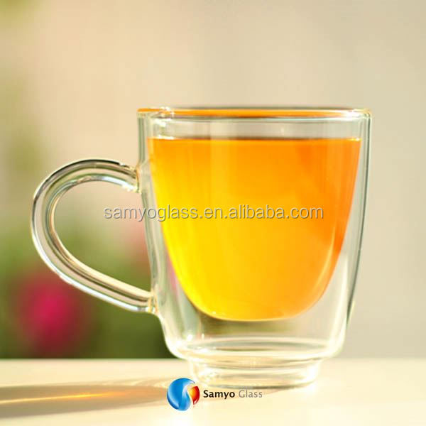 Samyo Custom Glassware Manufacturer round cooling juice glass cup
