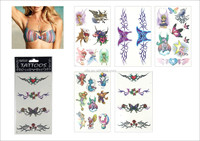Hot Sales Colorful Glitter Temporary Tattoo