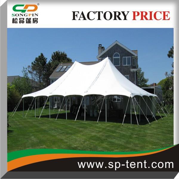 Guangzhou cheap steel metal frame yurt wall pole tent 60 for Cheap wall tent