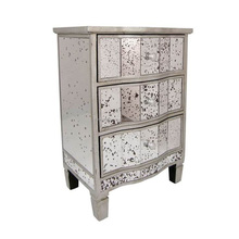 Customized Antique French Furniture MDF Wooden Nightstand
