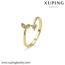 14813 Xuping light weight gold fashion cheap Indian gold cuff ring jewelry
