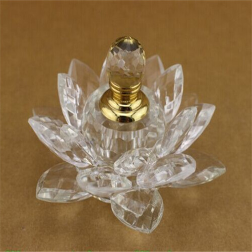 Wholesale Beautiful Brand Custom Crystal Glass Perfume Bottle for Wedding Gift