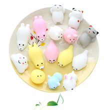 Cute Animal Hand Toy Kids Gift Colorful relieve Stress Pressure Vent Decompression Toy