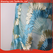 2017 new product colorful mesh fabric in mesh fabric for dress