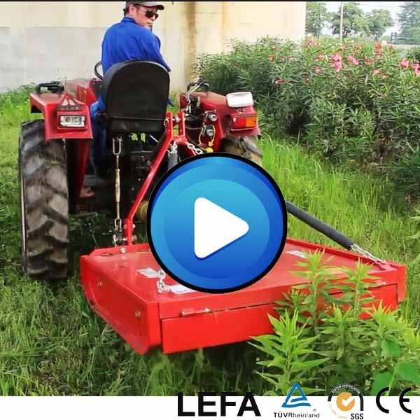 120-30HP Tractor PTO Control Quad Topper Mower For Sale