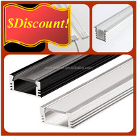 Top Quality And Lower Price LED aluminium profile For LED Strips Lighting Project From China