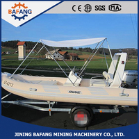 2015 Popular Rigid Hull Inflatable Rib Boat Inflatable Boat