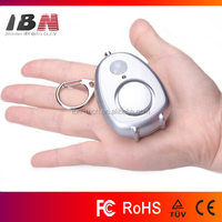 Battery Powered 120dB Personal Protection Alarm
