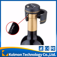 Plastic Bottle Password Lock Combination Wine Stopper bottle cap lock