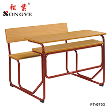 double school desk student school desk and chair classroom furniture sets