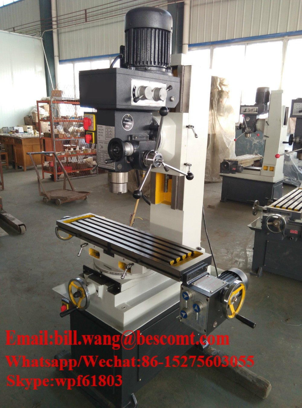 Ultra Precision Cheap Cnc Vertical Milling Machine