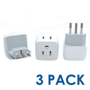 New 2 in1 USB AC EU/US Wall Power Adapter Italy For Macbook Charger