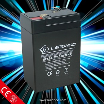 6v 4.5ah 20hr rechargeable battery 6v lead acid battery for digital scale, emergency light