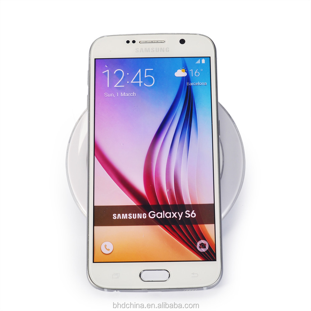 Universal Genuine Qi Wireless Charging Charger Samsung Galaxy S6 S7 wireless charger for galaxy s2