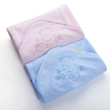 factory wholesale bamboo Baby Hooded Bath Towel