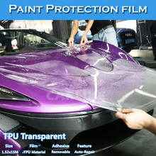 1.52*15m Transparent TPU Material Anti-Scratch Protective Film For Car Paint