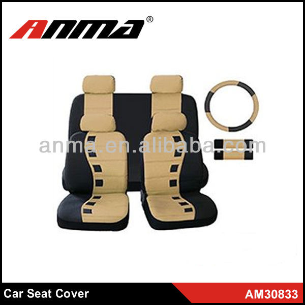 Anma zebra seat covers cars,fabric car seat cover