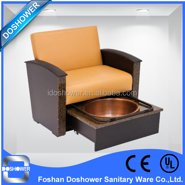 new design spa pedicure chairs for beauty salon furniture / spa pedicure chair foot rest