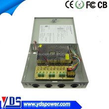 Camera Power 12V 9CH CCTV 5A Security Box Supply DC switching power supply
