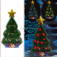 color changing christmas led metal tree lights for outdoor home decoration