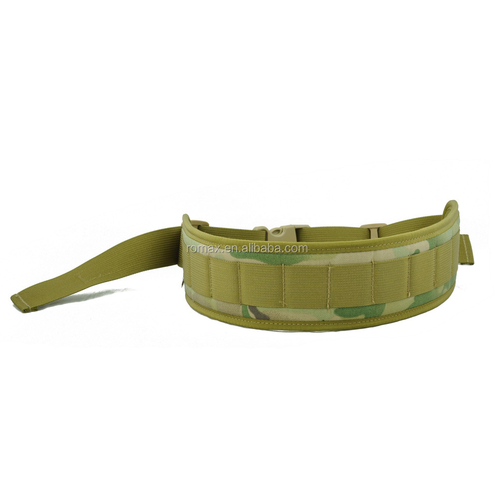 army style cordura fabric belts tactical adjustable belts for men hunting war games outdoor activities