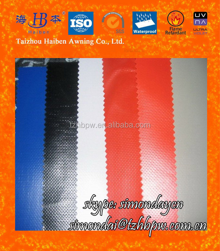 Waterproof and Durable PVC Coated Tarpaulin Fabric for Covers