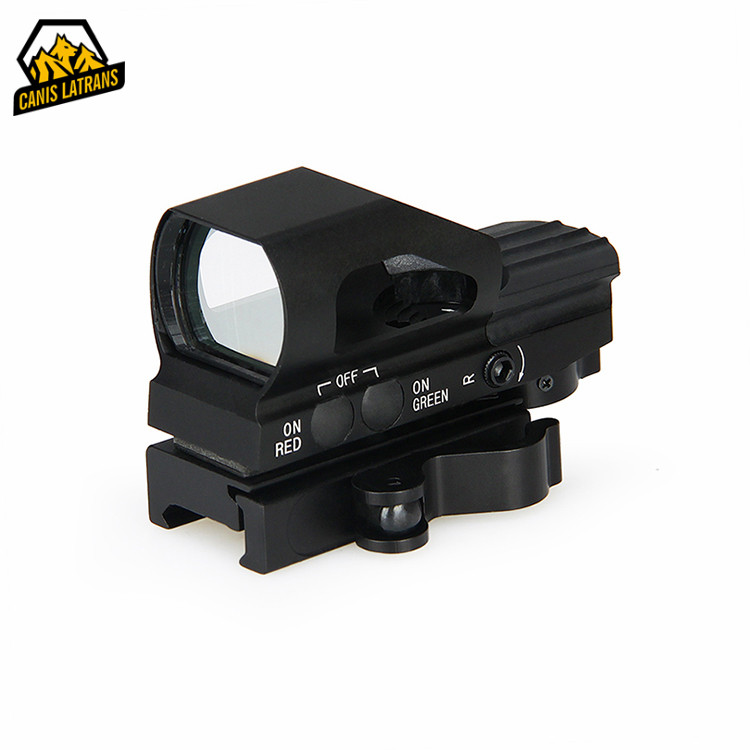 Hot Sale Tactical Air Guns And Weapons Military Optics Red And Green Dot Rifle Sight 4 Reticles Reflex Red Dot Scope