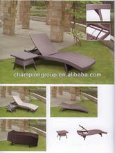 AR-6091S shenzhen plastic beach lounger -- large loading quantity to save shipping cost