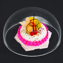 10-40cm Cheap price Clear Acrylic Plastic Cake Dome Cover