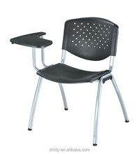 Modern Plastic School Student Chair/Training Chair With Writing Pad School Furniture