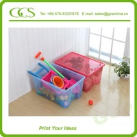 high quality plastic storage box partition keyway plastic storage box for bedroom