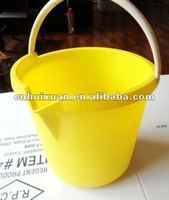 9L plastic measurement bucket with mouth