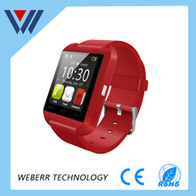 Smart watch Bluetooth phone call smart watch U8 android IOS cell phone mobile phone watch