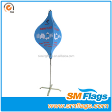 2014 outdoor unique attractive flying Banner Stand for Advertising