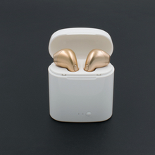 Promotion Gift Mini HBQ I7 I7S TWS Wireless Bluetooth Headphone Ear Pods With Charging Case For iPhone Android Phone
