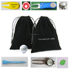 Custom logo printed golf accessories cheap drawstring velvet pouch