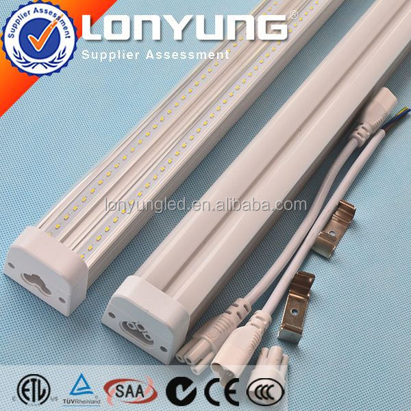 Linear T5 LED Integrative Double Tube 1-8ft 8-60w thl t5 phone ETL DLC TUV SAA