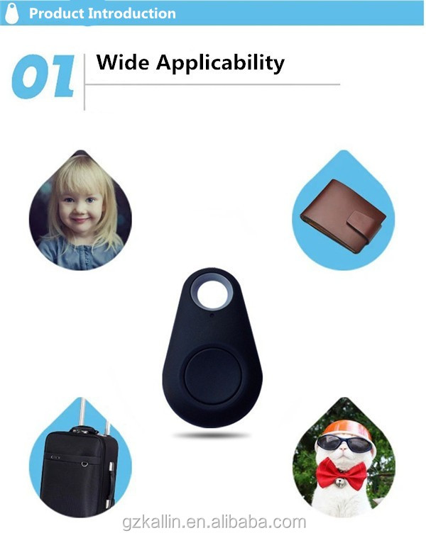 smart mini keychain bluetooth wireless key finder gps tracer