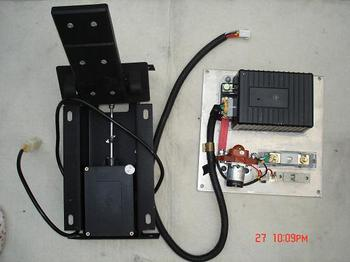 separately excited electric vehicle dc motor controller