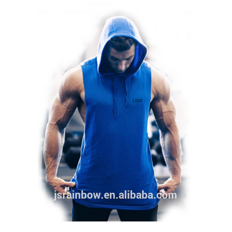2018 new design oem artwork cotton stringer tank top men gym