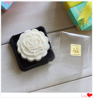 PET plastic moon cake display pack tray with lid,for pastry shop